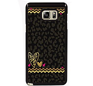 Leopard Print Design Slim Metal Back Case for Samsung Galaxy Note 3/Note 4/Note 5/Note 5 edge