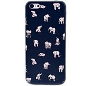 étui rigide gens d'éléphants de motif indien pour iphone 5c