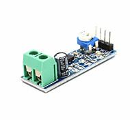 Lm386 Audio Amplifier Module 200 Times 5V-12V Input 10K Adjustable Resistance Drop