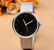 Stainless Steel Unisex Quartz Watch Women Fashion Unique Wristwatches Men Hot Brand Geneva Watches Waterproof Gifts Cool Watches Unique Watches