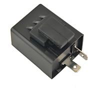 Motorcycle Turn Signal Flasher Relay 2 Pin  LED Indicator Light(Beep Sound.12V 1PCS)