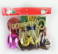 Рождественская елка педант, один большой мешок подарков и один небольшой подарок мешок