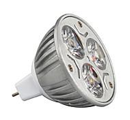 Недорогие -3W 210-245lm GU5.3(MR16) Точечное LED освещение MR16 3 Светодиодные бусины Высокомощный LED Декоративная Тёплый белый / Холодный белый /