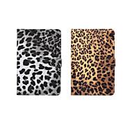 padrão de leopardo impressão de alta qualidade estojo de couro pu 7,9 polegadas para ipad mini-4