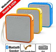 Недорогие -На открытом воздухе В помещении Bluetooth Портативные Беспроводной Bluetooth 2.0 3.5 мм AUX Сабвуфер Оранжевый Желтый Синий