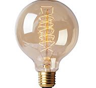 preiswerte -BriLight 1pc 40W E27 E26/E27 G95 K Glühbirne Vintage Edison Glühbirne Wechselstrom 220-240V V
