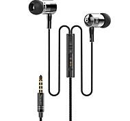 langsdom I-1 высокое качество 3,5 мм с функцией шумоподавления микрофон в ухо наушник для Iphone и других телефонов