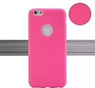 os novos casos de ponta pacote de desenho cruzadas para 6s iphone 6 plus / iphone Plus (cores sortidas)