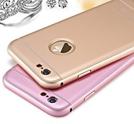 Protective Metal Bumper Frame with Frosted Back Cover for iPhone 6s 6 Plus