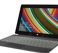 Недорогие -xskn ультра тонкий прозрачный ТПУ кожи клавиатуры полупрозрачная кожа клавиатура для Microsoft Surface Pro 3, нам макет
