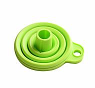 Недорогие -сложите силиконовые воронки высококачественных кухонных гаджетов, которые используются каждый день (случайный цвет)