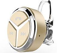 Недорогие -EARBUD Беспроводное Наушники пластик Мобильный телефон наушник Мини С регулятором громкости С микрофоном наушники