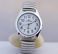 Недорогие -Муж. Наручные часы Повседневные часы Нержавеющая сталь Группа Кулоны Серебристый металл / TY 377A