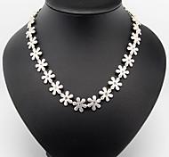cheap -Women's Fashion Pendant Necklace Chain Necklace Vintage Necklaces Alloy Pendant Necklace Chain Necklace Vintage Necklaces , Wedding Party
