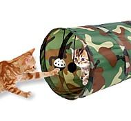 Игрушка для котов Игрушки для животных Трубы и туннели Складной Расклешенные Для домашних животных