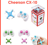 Cheerson CX-10 Drone 2.4G 4ch Micro RC Quadcopter with Gyro RC Remote Control Quadcopter Helicopter Drone