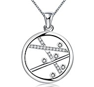 Daniel Wellington 925 sterling silver Round medal pendant cremation jewelry