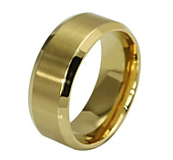 cheap -Men's Titanium Steel Band Ring - Fashion Golden Ring For Party Daily Casual