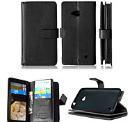 PU Leather+TPU Back Cover Wallet Much Card Holders+Cash Slot+Photo Frame Magnetic Phone Case for Nokia Lumia 640