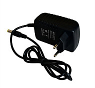 Jiawen 110~240V to DC12V 2A Power Supply Adapter Converter Transformer - Black (EU Plug)