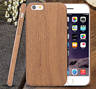 cheap -Case For iPhone 5 Apple iPhone 5 Case Ultra-thin Pattern Back Cover Wood Grain Soft TPU for iPhone SE/5s iPhone 5