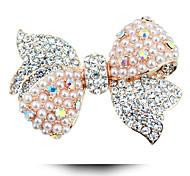 economico -versione coreana di abbigliamento spilla di perle arco delle donne del nuovo