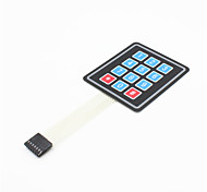 3x4 Matrix 12 Key Membrane Switch Keypad Keyboard