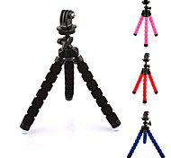 cheap -Accessories Tripod High Quality For Action Camera Gopro 5 Xiaomi Camera Gopro 4 Gopro 3+ Sports DV Plastic
