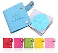 1pcs 24slots Nail Art Image Plate Leather Folder/Holder/Case for Stencil Polish Nail Stamping Disc Template Album