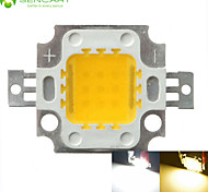Недорогие -10w 900lm белый / теплый белый 3000k / 6000k высокий яркий светодиодный свет лампы постоянного тока чип 32-35v