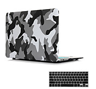 """2 em 1 fosco cristal superfície emborrachada cobertura caso difícil para MacBook Air 11 """"/ 13"""" + tampa do teclado"""