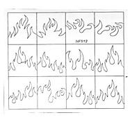 Недорогие -24pcs различные размеры профессиональная модель решений ногтей инструмент # 12