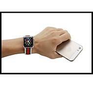 Часовая полоса для часов с яблоком 38 мм 42 мм кожаный браслет с адаптером