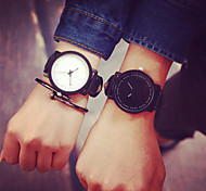 Break Couple Creative Cool Waterproof Minimalist Unisex Quartz Rubber Strap Relogio Wristwatch Casual Women Watches Cool Watches Unique Watches