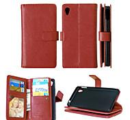 cuir PU + TPU capot arrière portefeuille détenteurs de cartes d'argent comptant fente + + cadre photo cas de téléphone magnétique pour