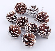 9 PCS Natural Pine Cone Christmas Trees Decoration Home Decor