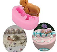 cheap -1pc Novelty For Cake Plastic DIY Cake Molds
