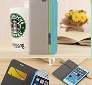 роскошный бумажник с слот для карт памяти Держатель стиле смешанных цветов кожаный чехол для Iphone 6 плюс / 6S плюс (ассорти цветов)
