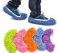 cheap -2pcs/set  Multifunction Absorbent Wipe Slippers Sets Random Color