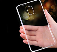 For Samsung Galaxy Note Ultra-thin / Transparent Case Back Cover Case Solid Color TPU Samsung Note 5 / Note 4 / Note 3