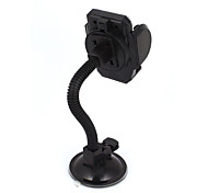 cheap -Black Suction Base Flexible Neck Windshield Mount Holder for Cell Phone GPS