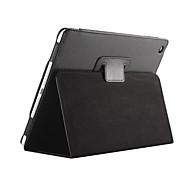 sillage automatique magnétique jusqu'à flip sommeil étui en cuir de litchi pour iPad 2/3/4 tablette de couverture avec écran gratuit