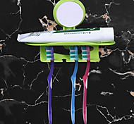 cheap -Toothbrush Holder Creative Modern Plastic 1pc Wall Mounted
