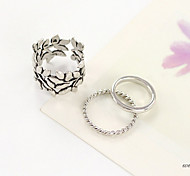 Personality Leaves Ring(Set of 3) Promis rings for couples