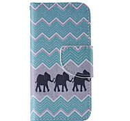 iphone 7 plus schwarz Elefanten gemalt PU-Telefonkasten für iphone 6s 6 Plus se 5s 5c 5 4s 4