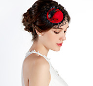 Women's Flower Girl's Lace Alloy Headpiece-Wedding Special Occasion Casual Office & Career Outdoor Hats
