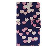 Случай для яблока iphone 7 7 плюс iphone 6s 6 плюс крышка случая сердечко pu кожаные случаи для iphone se 5s 5c 5