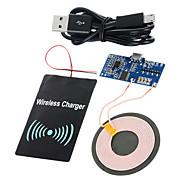 Недорогие -Стандарт ци cwxuan ™ DIY беспроводной передачи PCB + DC приемный модуль зарядки набор