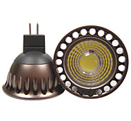 cheap -YouOKLight 400lm GU5.3(MR16) LED Spotlight R63 1 LED Beads COB Decorative Warm White Cold White 12V 110-130V