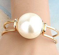 cheap -Women's Pearl Others Cuff Bracelet - Unique Design Statement Fashion Golden Bracelet For Christmas Gifts Party Daily